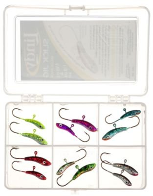 Lindy Slick Jig Kit - 3/16 & 1/4 oz. - 12 pc. (Lindy Ice Fishing Lures compare prices)