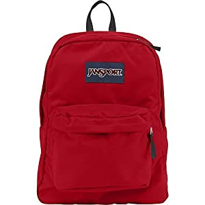 JanSport Classic SuperBreak Backpack, High Risk Red
