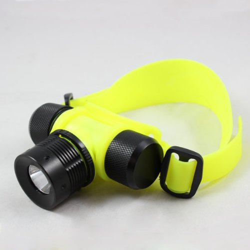 Atian Waterproof Cree Q5 300Lm Led 30M Aaa Diving Headlight Flashlight Lamp Torch Lamp