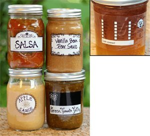 Modern Harvest Canning Labels - Heat Shrink - 500 mL - 24 pcs