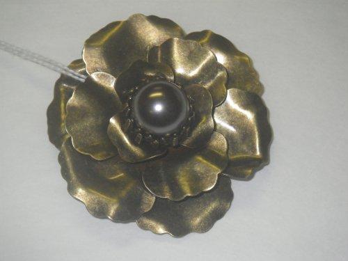 Hand Made Flower Brooch