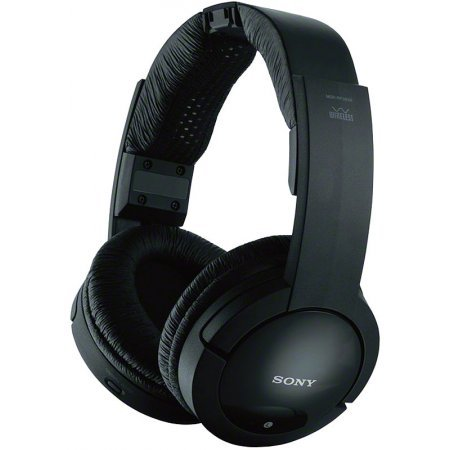 Sony Over The Ear Analog Rf Wireless Headphones (Black)