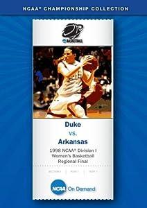 1998 NCAA(r) Division I Women's Basketball Regional Final - Duke vs. Arkansas