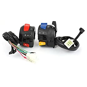 """Motorcycle 7/8"""" Combination Horn Starting Electric Switch Controller"""