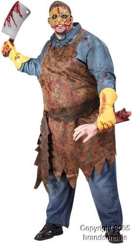 Adult Butcher Man Halloween Costume