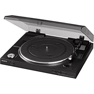 Sony PS-LX300USB USB Stereo Turntable System – Black