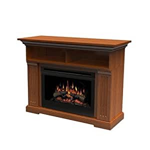 Dimplex North America Dfp25 1217ca Electric Media Fireplace Home Kitchen