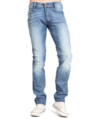 Diesel Iakop 8w7 Skinny Blue Man Jeans Men - W33 L32