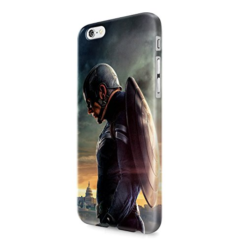 Captain America Winter Solider The Avengers Shield Superhero Hard Snap-On Protective Case Cover For Iphone 6 PLUS / Iphone 6S PLUS