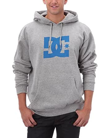 DC Shoes Star PH Men's Sweatshirt Heather Grey/Red X-Large