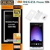 レイアウト REGZA Phone au by KDDI IS04用シルキータッチシリコンジャケット/ホワイト RT-IS04C1/W