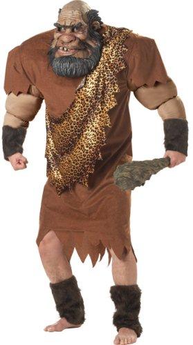 Adult Men's Deluxe Caveman Halloween Costume