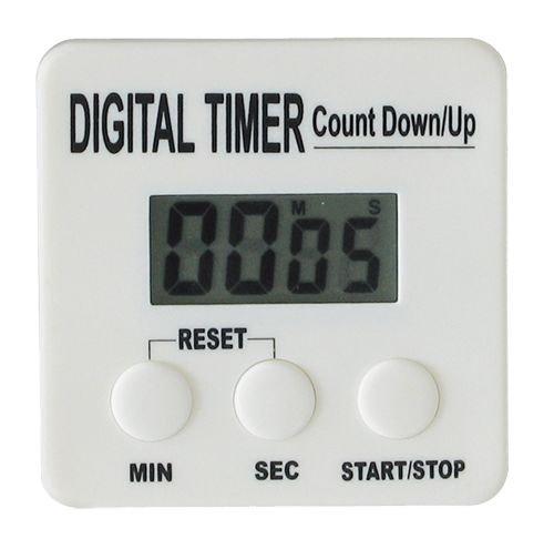 Digital Timer Countdown Stoppuhr Kurzzeitmesser Eieruhr