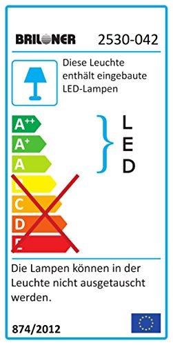 Briloner Leuchten LED Deckenstrahler Farbsteuerung Farbwechsel Mit Fernbedienung Dimmbar Deckenleuchte Deckenlampe Spots Strahler Wohnzimmerlampe