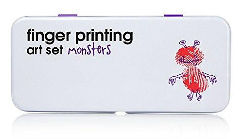 Finger Printing Art Set - Monsters