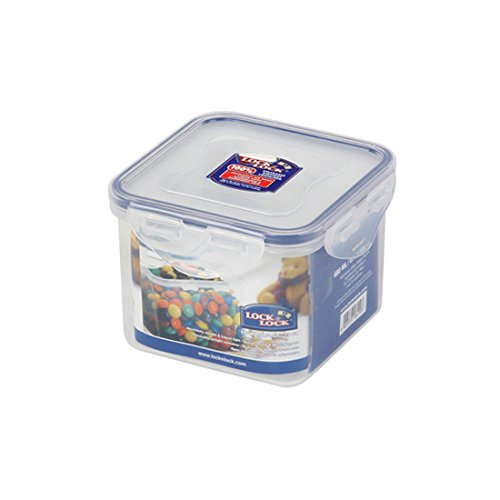 Lock & Lock, No BPA, Water Tight, Food Container, HPL851, 2.8-cup, 23-oz (Easy Lock Food Containers compare prices)