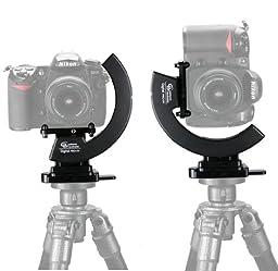 Custom Brackets Digital PRO SV Kit, Studio Version Rotating Camera Bracket for Digital & 35mm Film Cameras, with CMP Plate & QR Tripod QR Receiver