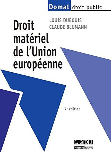 Droit matériel de l'Union européenn