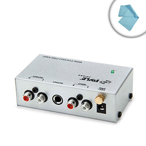 Purchase Compact Turntable Phono Preamp with 12 Volt DC Adapter - Works with Audio Technica AT-LP60 ...