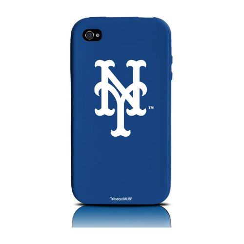 MLB New York Mets iPhone 4 Cover Varsity Jacket Silicone at Amazon.com
