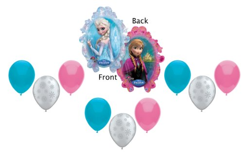 Disney Frozen Balloons - Party Decorating Kit - 10 Balloons Total