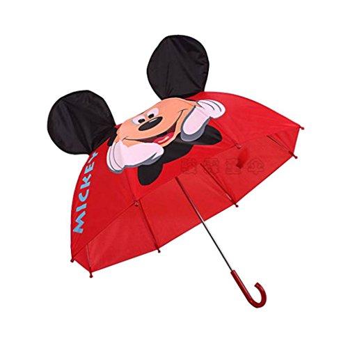Starsource Creative Children's Umbrella Cartoon Umbrella Sun / Rain  Umbrella for Kids