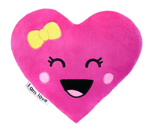 "Moxie Girlz ""I Am..."" Heart Pillow"