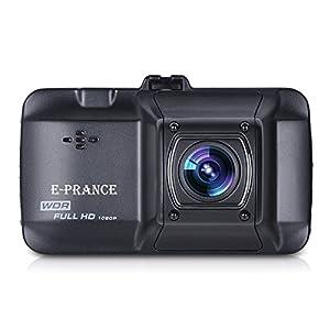 E-PRANCE 3.0インチ 300万画像 D101 フルHD 1296Pハイビジョン ドライブレコーダー
