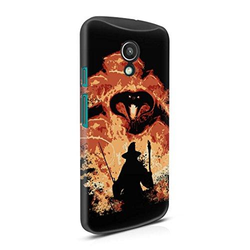 Lord Of The Rings Balrog Cs Gandalf Motorola Moto G2 Hard Plastic Phone Case Cover