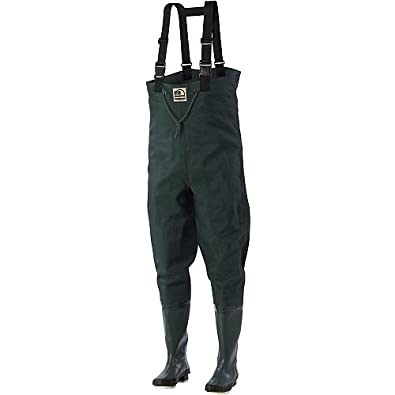 Hodgman bantam weight 2 ply chest waders for Fishing waders amazon