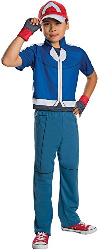 Rubie's Costume Pokemon Ash Deluxe Child Costume, Medium