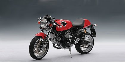 DUCATI SPORT 1000 - RED Diecast Model Motorcycle in 1:12 Scale by AUTOart