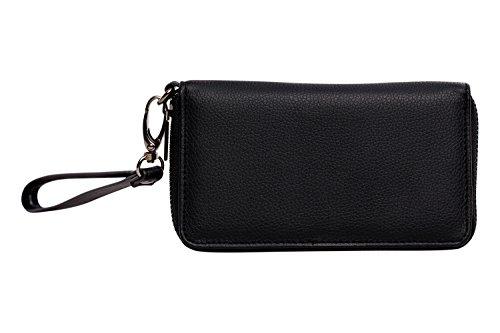 Schöner-Portafoglio/portamonete/portafoglio/borsa/borsa/borsa da sera/custodia/case/Custodia/Clutch/portamonete con confezione regalo-Pelle-Accessoire + regalo