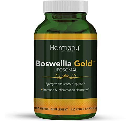 Harmony Nutraceuticals Boswellia Serrata Extract (70% Boswellic Acids) 730 mg 120 Capsules - Non Synthetic