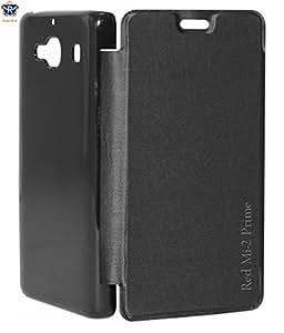 Royal Rusi - Black Flip cover , USB Data Cable , Otg cable, Aux Cable For Xiaomi Redmi 2 Prime
