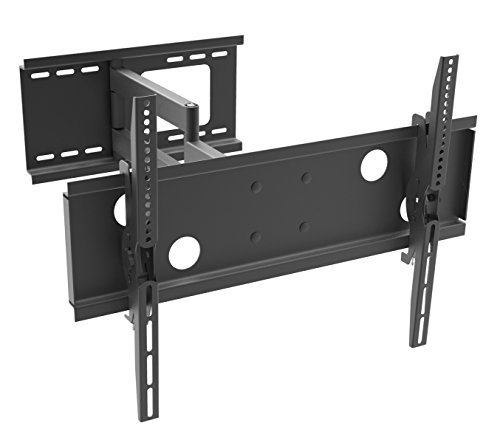 TEXONIC TV Corner Wall Mounting Bracket DX100 - Mount Flat Screen Television and Flat Panel Monitors LED LCD PLASMA