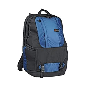 """Lowepro Fastpack 350 Quick Access Backpack for SLR Kit, 17"""" Notebook and General Gear - Arctic Blue"""