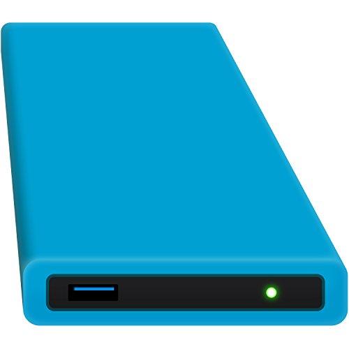 HipDisk externe Festplatte SSD 500GB (6,4 cm (2,5 Zoll), USB 3.0) HD-BL-500S