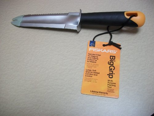 fiskars 7079 big grip garden knife free shipping new ebay. Black Bedroom Furniture Sets. Home Design Ideas