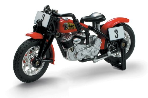 NewRay 1/32 Die-Cast Motorcycle: Indian 1947 Sport Scout Bobber
