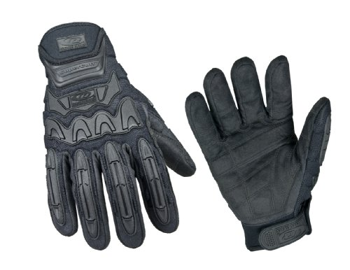 Ringers Gloves 577-08 Tactical HD Glove, Black, Small