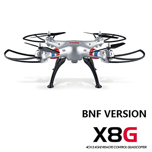 Syma X8G 2.4G 4CH Headless Mode Without Camera Battery Transmitter RC