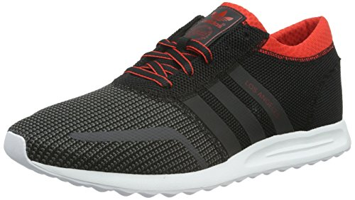 adidas Los Angeles, Zapatillas Hombre, Negro (Core Black/Dgh Solid Grey/Red), 44 2/3 EU 45.89€