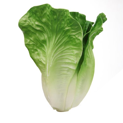 Life-like Decorative Lettuce Artificial Vegetables Green