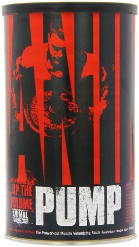 Universal Nutrition Animal Pump Pre-Workout, Nitric Oxide, Creatine, Energy Supplement (Animal Omega compare prices)
