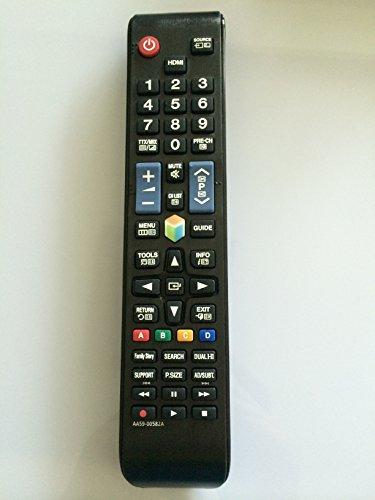 New Samsung AA59-00582A Remote sub AA59-00580A AA59-00638A AA59-00790A AA59-00581A AA59-00594A Replaced Remote fit for Smart TV UN32EH4500 UN46ES6100F UN32EH5300 UN40EH5300F UN40ES6100F UN46EH5300F, fit for UN32EH5300FXZA, UN40ES6100FXZATS01, UN46ES6100FXZATS01, UN55ES6100FXZATS01, UN60ES6100FXZA, UN60ES6100FXZAHH01, AA5900580A, UN32EH5300F, UN40EH5300F, UN40EH5300FXZA, UN40ES6100F, UN40ES6150F,