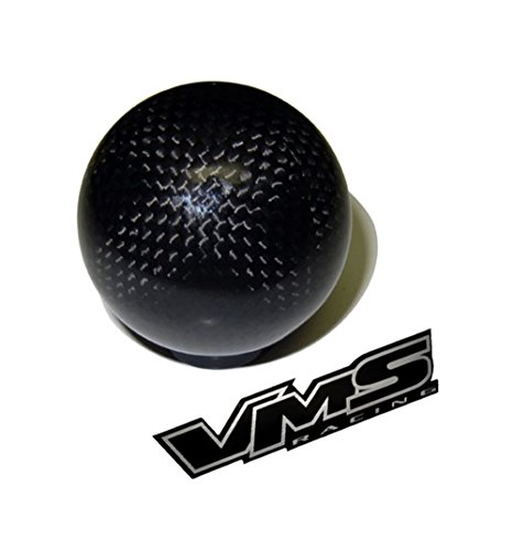 m16x1.50 THREADED (NO adapters) 5 speed 6 speed ROUND Ball Real Hand-Laid CARBON FIBER SHIFT KNOB Gear Shifter Selector Type-R Type-S for Chevy Chevrolet Camaro Manual Transmission 93 94 95 96 97 98 99 00 01 02 16x1.50mm (Camaro Shifter Ball compare prices)