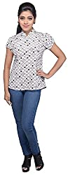 SSMITN Women's Regular Fit Top (Multicolor, SN9039 _ Large)