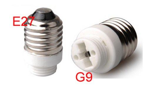 Toplimit 4 Pack E27 To G9 Led Light Lamp Bulb Socket Adapter Converter Material Ceramics