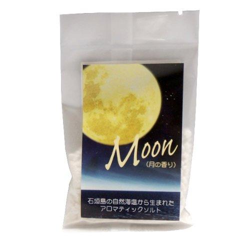 石垣島の自然海塩から生まれた アロマティックバスソルト MOON 30g